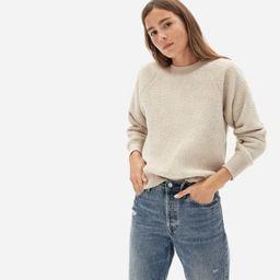 The ReNew Fleece Raglan Sweatshirt   Everlane