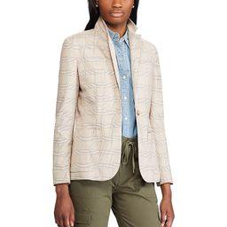 Women's Chaps Plaid Blazer, Size: 8, Brown | Kohl's