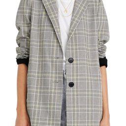 Women's Madewell Cosley Plaid Dorset Blazer, Size X-Small - Ivory | Nordstrom