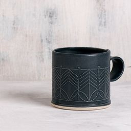 Black Ceramic mug black stoneware mug   Etsy   Etsy (US)