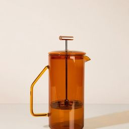 850 mL Glass French Press  Amber  Backordered Ships early   Etsy   Etsy (US)