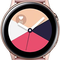 Samsung Galaxy Watch Active (40MM, GPS, Bluetooth) Smart Watch with Fitness Tracking, and Sleep A...   Amazon (US)