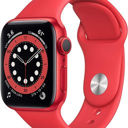 New AppleWatch Series 6 (GPS, 40mm) - (PRODUCT)RED - Aluminum Case with (PRODUCT)RED - Sport...   Amazon (US)