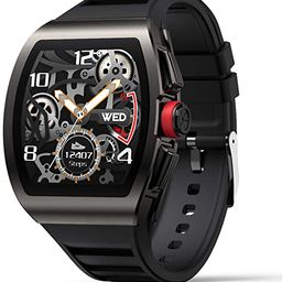 Smart Watch for Android and iOS Phones, Smart Watches for Men, Smartwatch with Heart Rate and Blo...   Amazon (US)