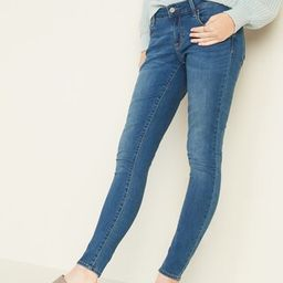 Low-Rise Rockstar Super Skinny Jeans for Women | Old Navy (US)