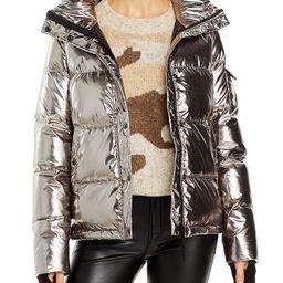 Metallic Ella Puffer Jacket - 100% Exclusive   Bloomingdale's (US)