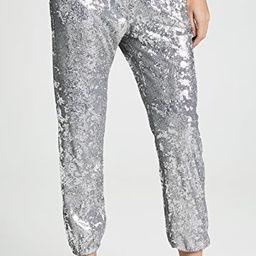 Sequin Jogger Pants   Shopbop