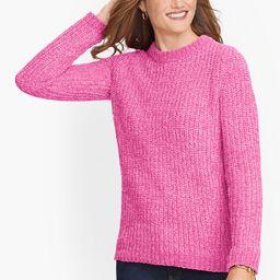 Cozy Chenille Crewneck Sweater   Talbots
