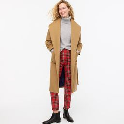 Wrap coat in Italian wool-cashmere   J.Crew US