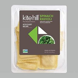 Kite Hill, Spinach and Ricotta Ravioli (Dairy Free), 9 Ounce | Amazon (US)