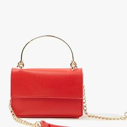 Pebbled Faux Leather Crossbody Bag   Forever 21 (US)