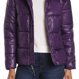 KENDALL AND KYLIE   Two-Tone Puffer Jacket   Nordstrom Rack   Nordstrom Rack