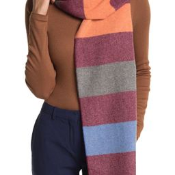 Chelsey Imports | Candy Stripe Cashmere Scarf | Nordstrom Rack | Nordstrom Rack