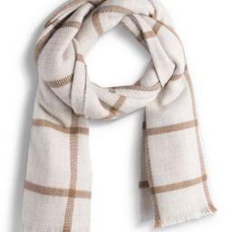 Sole Society | Window Pane Blanket Scarf | Nordstrom Rack | Nordstrom Rack