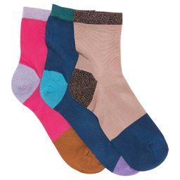 Hysteria by Happy Socks | Liza Crew Length Socks - Pack of 3 | Nordstrom Rack | Nordstrom Rack