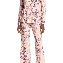 shimera | Tranquility Long Sleeve Shirt & Pants 2-Piece Pajama Set | Nordstrom Rack | Nordstrom Rack