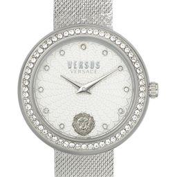 VERSUS Versace Lea Crystal Mesh Strap Watch, 35mm | Nordstrom | Nordstrom