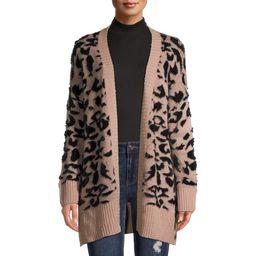 Dreamers by Debut Women's Leopard Print Cardigan | Walmart (US)