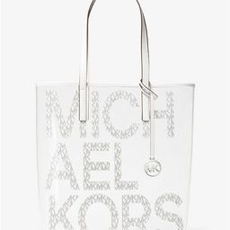 The Michael Large Graphic Logo Clear Tote Bag | Michael Kors (US & CA)