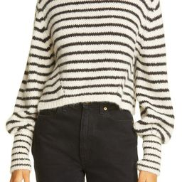 Kara Stripe Crop Sweater | Nordstrom