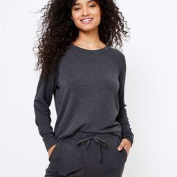 Petite Lou & Grey Signature Softblend Sweatshirt | LOFT | LOFT