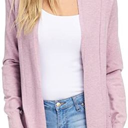 Alexander + David Women's Open Front Long Sleeved Duster Cardigan | Lightweight Maxi Sweater with... | Amazon (US)