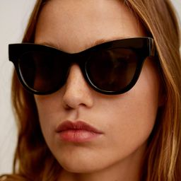 Acetate frame sunglasses | MANGO (US)