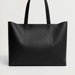 Seam shopper bag | MANGO (US)