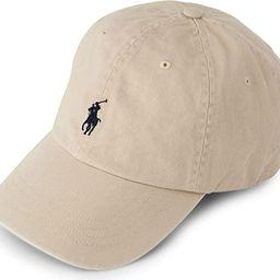 Ralph Lauren Mens Polo Sports Pony Logo Hat Cap (One Size, Nubuck) | Amazon (US)