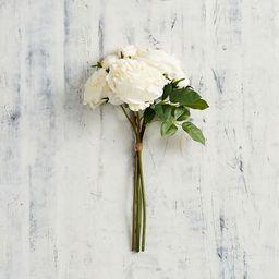 Faux Rose Bundle - White | Pottery Barn (US)