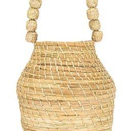 Kaanas x Jessie James Decker San Gil Bucket Bag in Natural from Revolve.com   Revolve Clothing (Global)