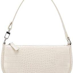 TOBOTO Retro Classic Clutch Croc Tote Bag Shoulder HandBags, Crocodile Purses with Zipper Closure... | Amazon (US)