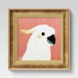 "12"" x 12"" Cockatoo Recessed Frame - Opalhouse™ | Target"