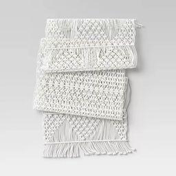 Cotton Macrame Runner White - Opalhouse™ | Target