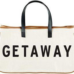 "Santa Barbara Design Studio Hold Everything Tote Bag, 20"" x 11"", Cream | Amazon (US)"