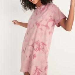Vintage Tie-Dye T-Shirt Shift Dress for Women | Old Navy (US)