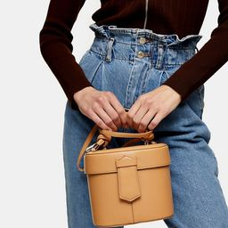 Topshop round purse in camel | ASOS (Global)