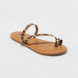Women's Andora Asymmetrical Toe Ring Sandals - Shade and Shore™   Target