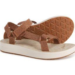 Teva Universal Star Sandals - Leather (For Women)   Sierra