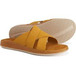 Chaco Wayfarer Slide Sandals - Nubuck (For Women) | Sierra