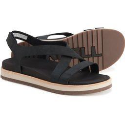 Merrell Juno Backstrap Sandals - Nubuck (For Women) | Sierra