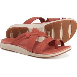 Merrell Kalari Lore Wrap Sandals - Leather (For Women) | Sierra