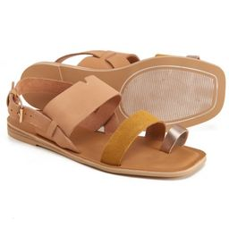 TOMS Freya Sandals - Leather (For Women) | Sierra