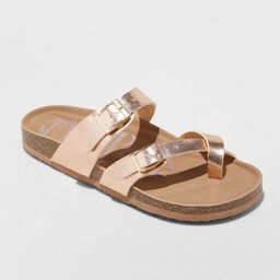 Women's Mad Love Prudence Footbed Sandals | Target