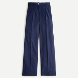 Wide-leg pant in stretch linen | J.Crew US