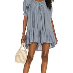 Free People Amelie Mini Dress in Indigo from Revolve.com   Revolve Clothing (Global)