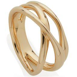 Nura Cross Over Ring   Monica Vinader (US)