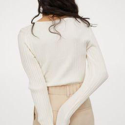 Rib-knit top   H&M (UK, IE, MY, IN, SG, PH, TW, HK, KR)