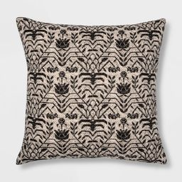 Floral Printed Square Pillow - Threshold™ | Target
