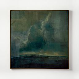 """36"""" x 36"""" Moody Landscape Framed Wall Art - Threshold™ designed with Studio McGee 